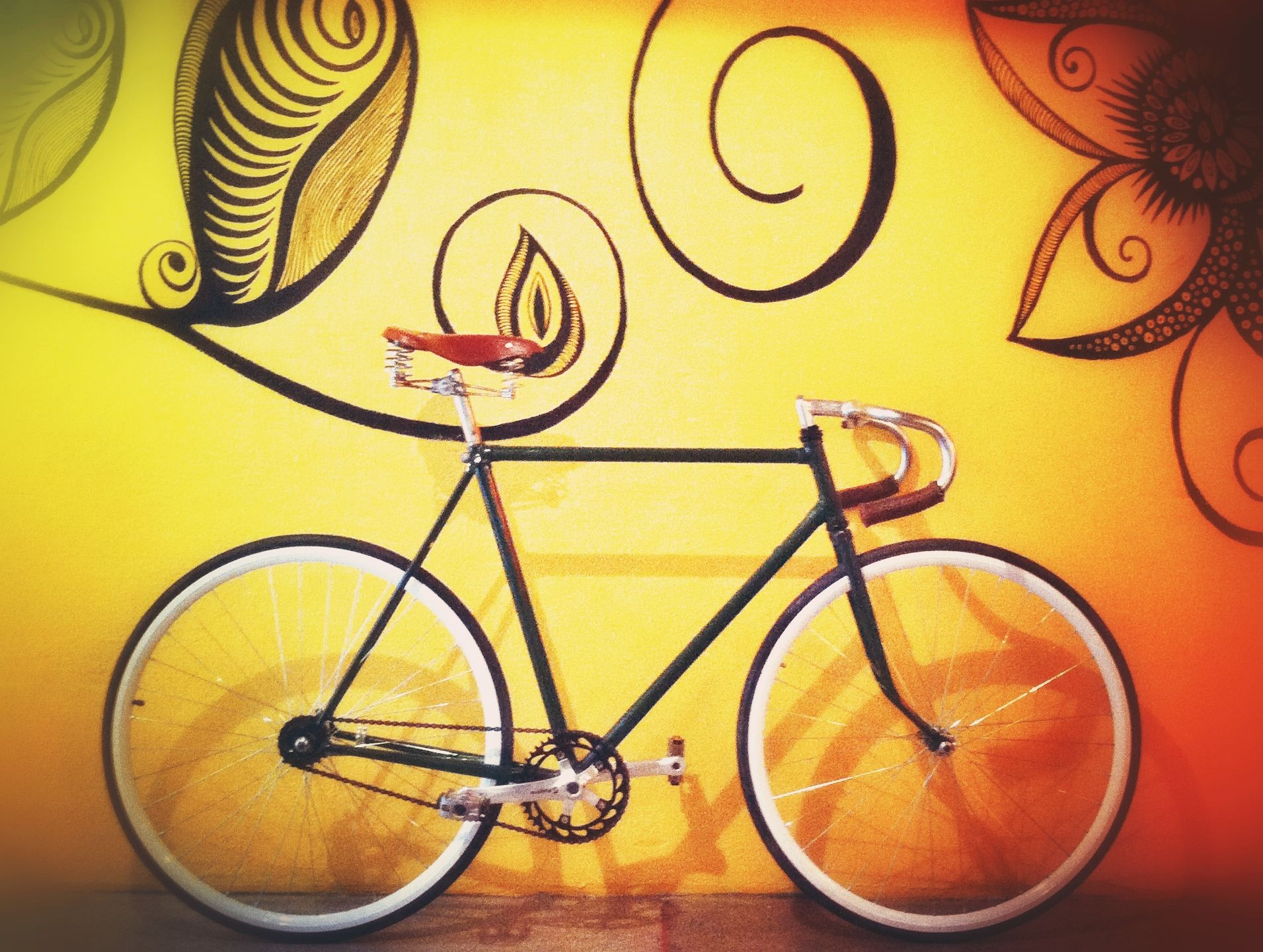 My vintage bike reformed. #bike #caloi #70's