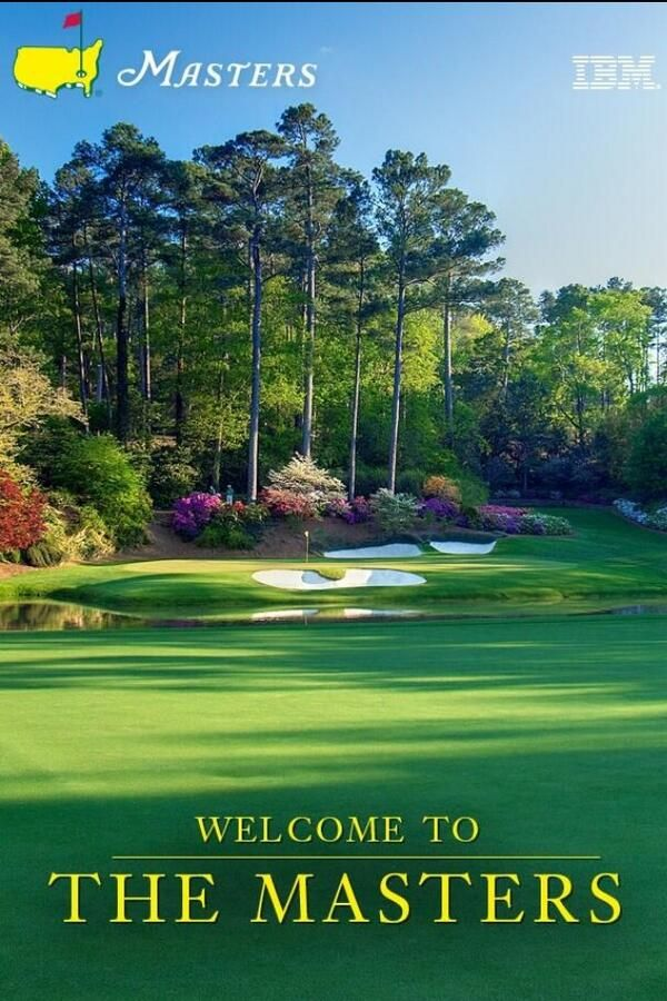 thebishopis 34 sleeps until the masters tournament favorite golf