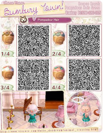 Animal Crossing Qr Codes Haarreifen With Images Animal