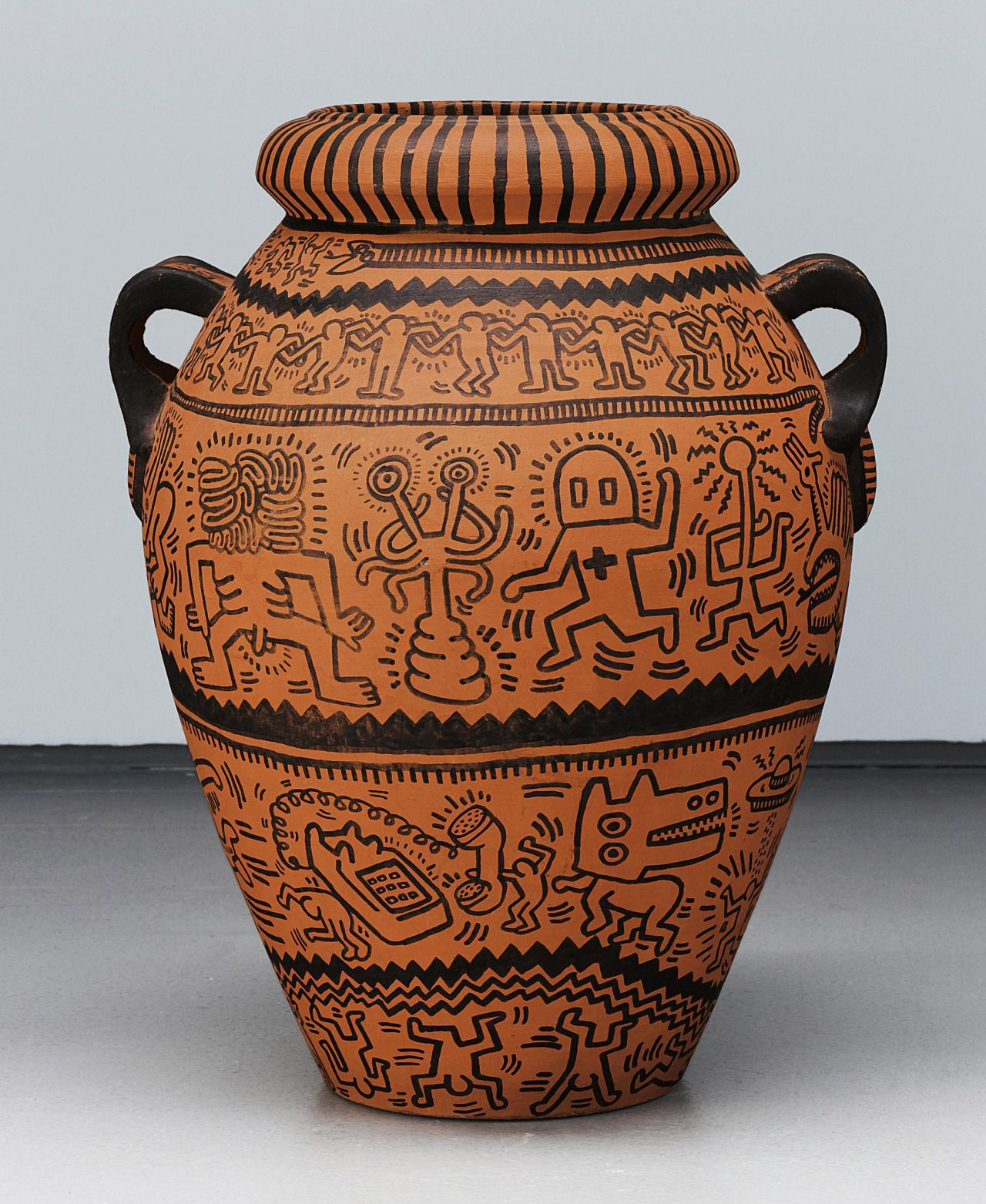 Keith haring untitled ink on terracotta vase usa 1984 keith haring untitled ink on terracotta vase usa 1984 phillips reviewsmspy