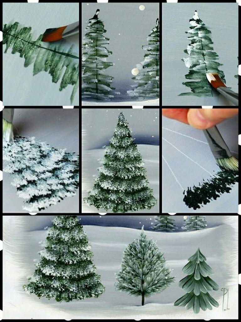 Wie Zeichne Ich Einen Tannenbaum.Tannenbaum All About Art In 2019 Tannenbaum Malen Baum Malen