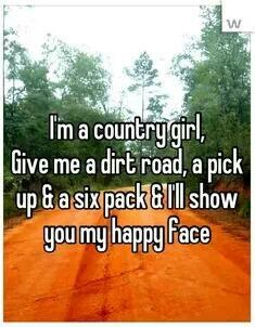 Im Just A Simple Girl Kiss My Country A Country Girls
