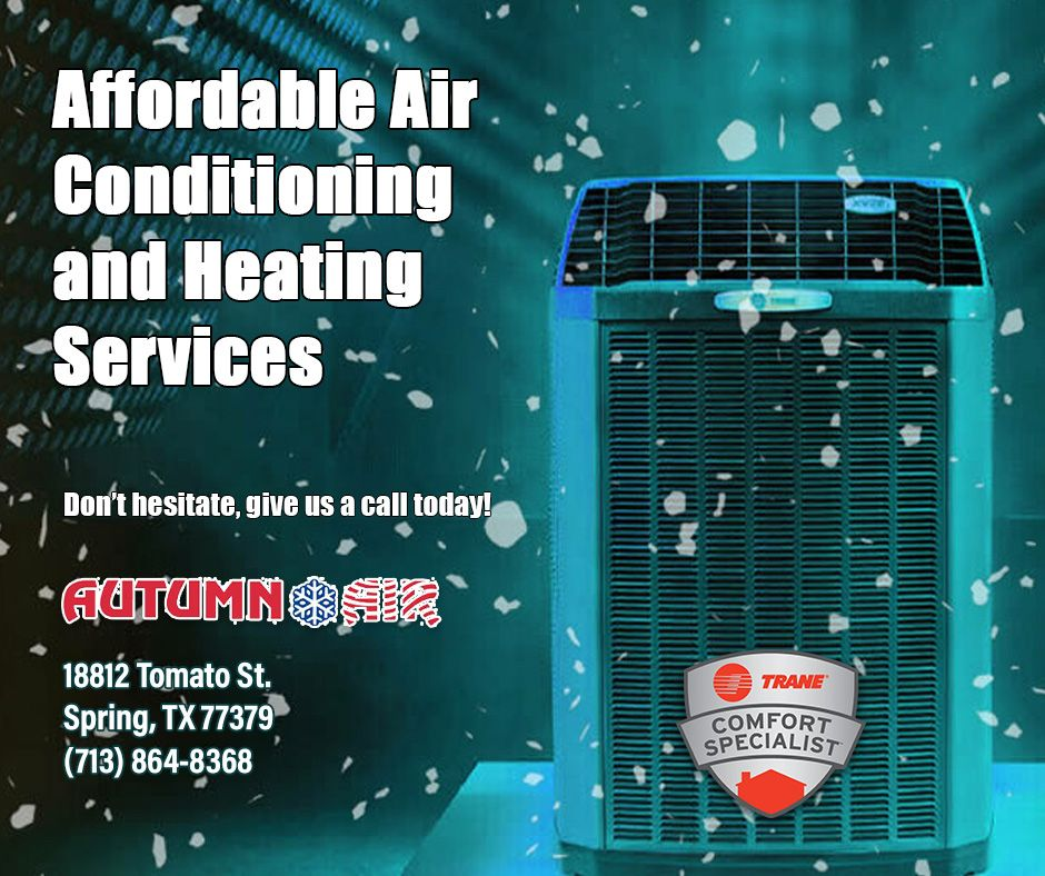 Trane Fall Maintenance in Spring TX Heating systems