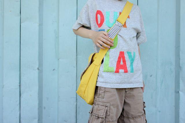leuk, zelf messenger tas maken, weekend projectje!