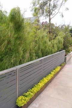 Was This Fence Built With Hardie Board Building A Fence Patio Fence Fence Design