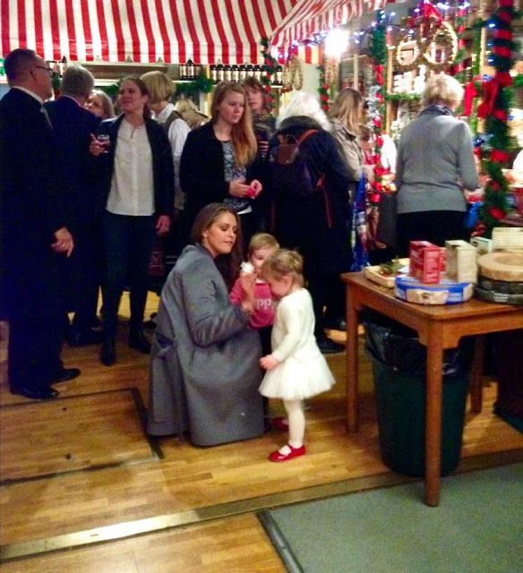 Princess Madeleine of Sweden and Princess Leonor of Sweden visited ...