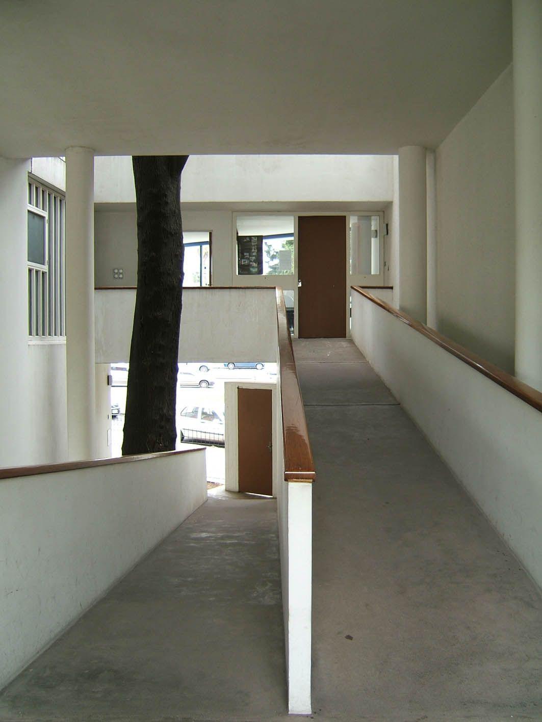 Arquitectura Casas Escaleras Exteriores Arquitectura: Casa Curutchet, Rampas Arquitectura Y Planos De Casas