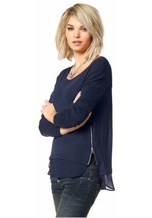 Пуловер цвет: синий арт: 448465263 купить в Интернет магазине Quelle за 2299.00 руб - с доставкой по Москве и России