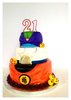 Dragonball Z cake I made for a friends birthday Visit now