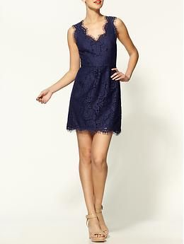 Rori Lace Dress by Joie on Piperlime.  Love the neckline.