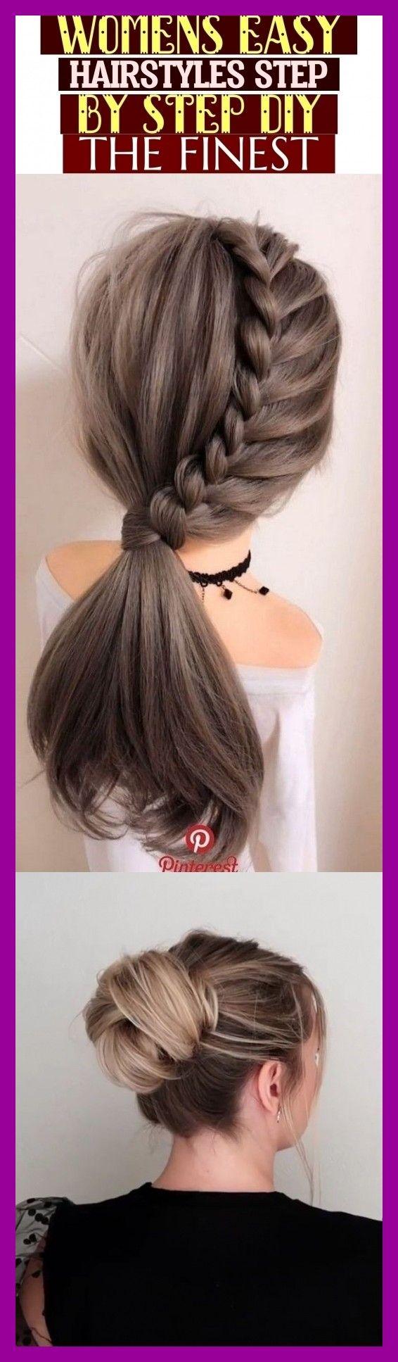 Peinados fáciles para mujeres Paso a paso Diy – The Finest #naturalhair #hairstylesdi …