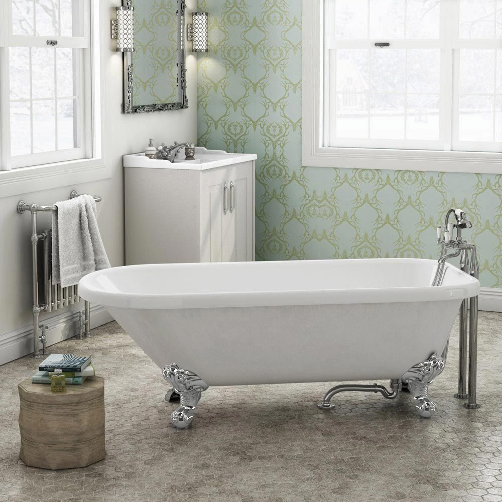 Browse The Bromley 1470 Single Ended Roll Top Bath. Ideal For Period Bathroom  Settings. Now In Stock And Available Online At Victorian Plumbing.co.uk.