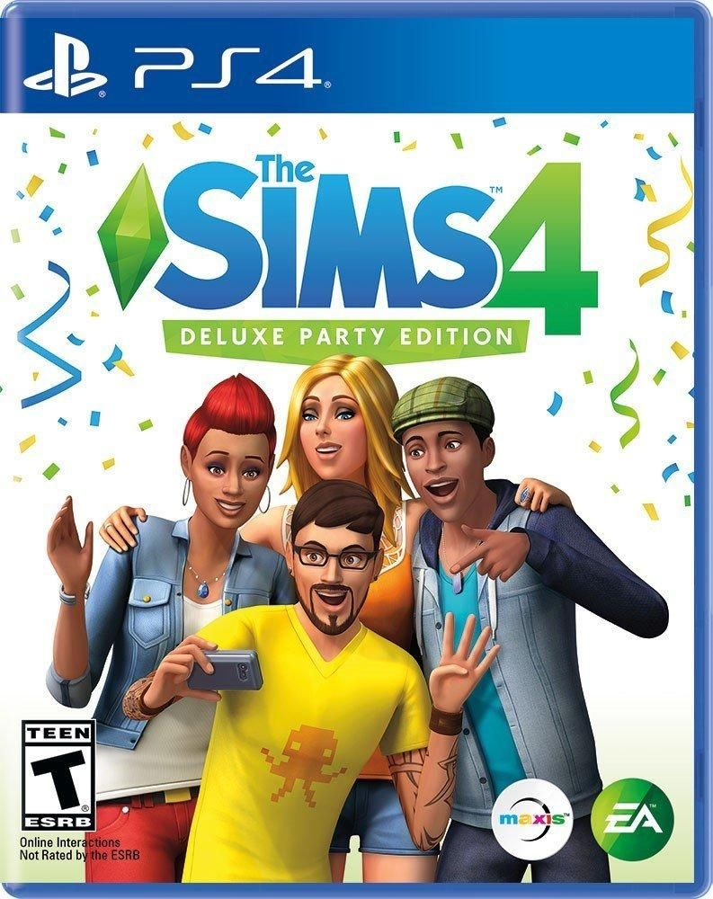 The Sims 4 Deluxe...