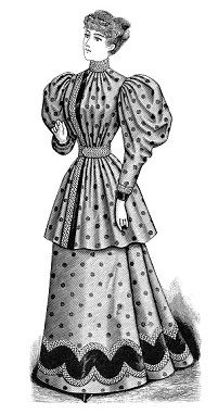 Victorian Woman Clipart Free Stock Photo - Public Domain Pictures