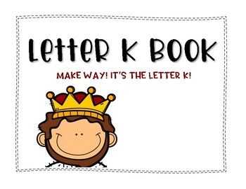 Letter k book handwriting practice handwriting practice kids letter k book handwriting practice great for reviewing the letter of the week and for learning about what things start with the letter k thecheapjerseys Choice Image