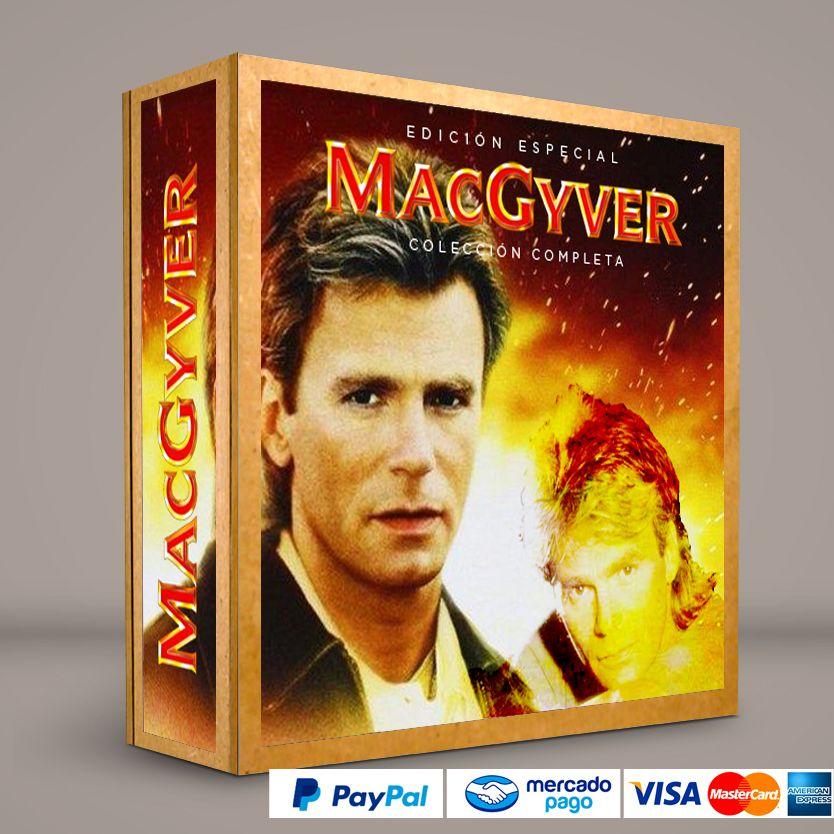MacGyver #Series #Películas #DVD #BluRay Calidad HD. Presentación exclusiva de RetroReto. Pedidos: 0414.402.7582. Visita: http://www.RetroReto.com.ve/
