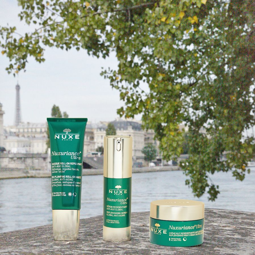Gamme Nuxuriance® Ultra  #NUXE #NuxurianceUltra #AntiAge #Beauty