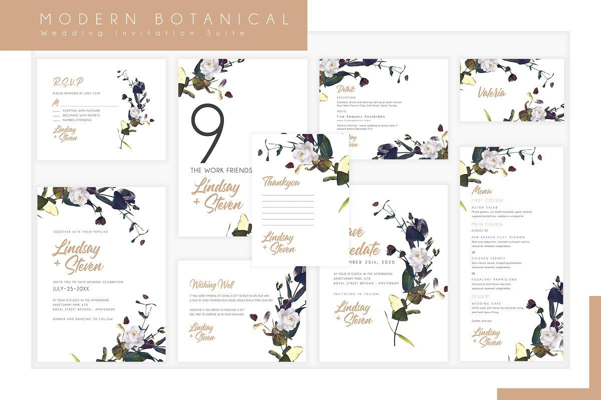 Pin By Decorative Designers Works On A Wedding Cards Templates Wedding Templates Botanical Wedding Wedding Card Templates