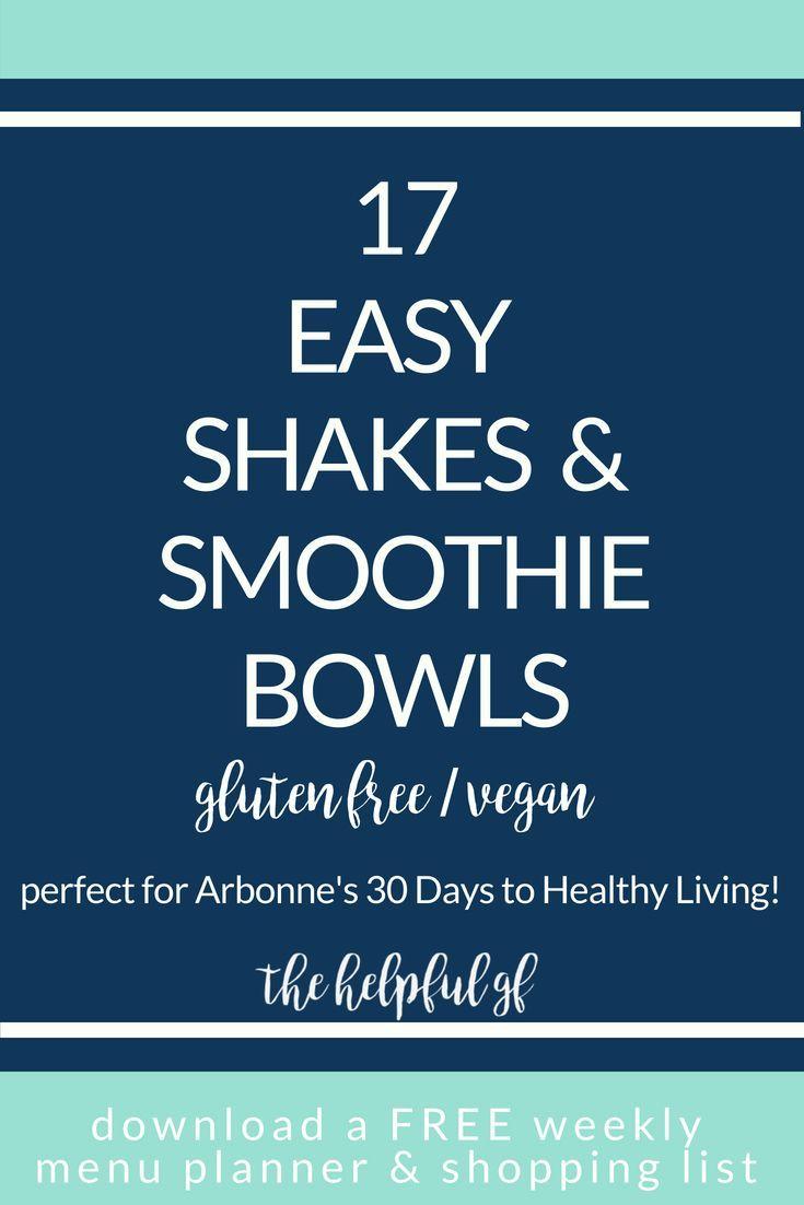 17 Gluten Free Vegan Shake Amp Smoothie Bowl Recipes Vegan Shakes Smoothie Bowl Vegan Gluten Free
