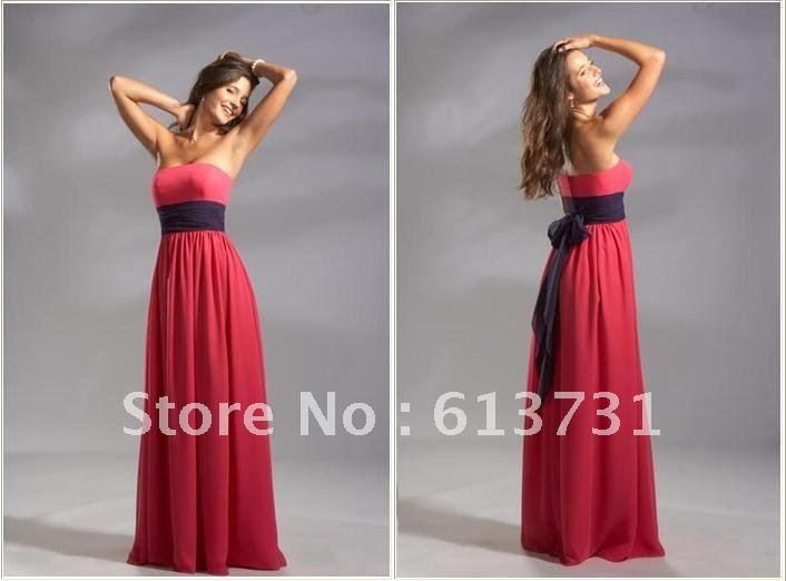 Long Red Bridesmaid Dresses Cheap - Ocodea.com