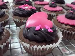 Cupcakes Gothic Heart