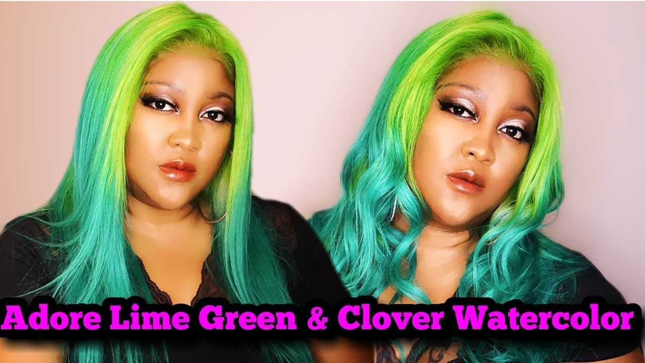 Aliexpress 613 Full Lace Wig Review Adore Lime Green Ombre