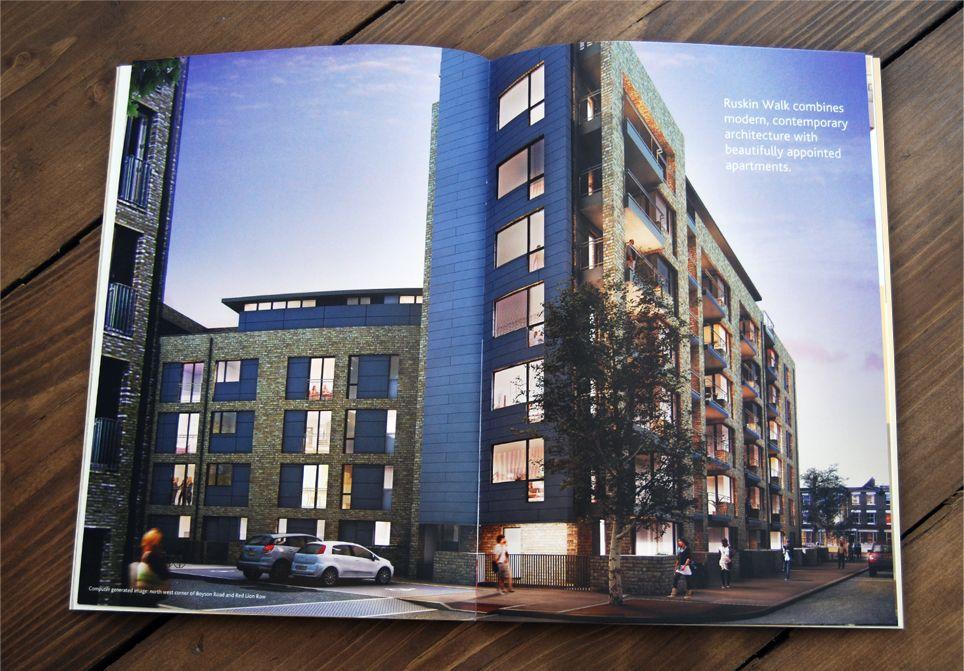 Ruskin Walk Property Marketing Brochure Spread  Presentation  Ta