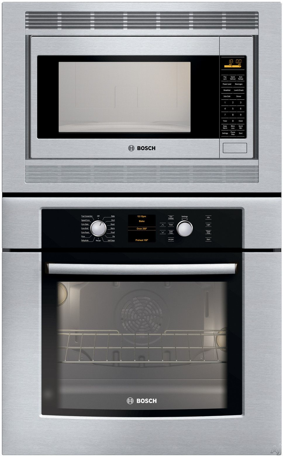 Bosch Wall Oven Micro Combo Great For Small Spaces