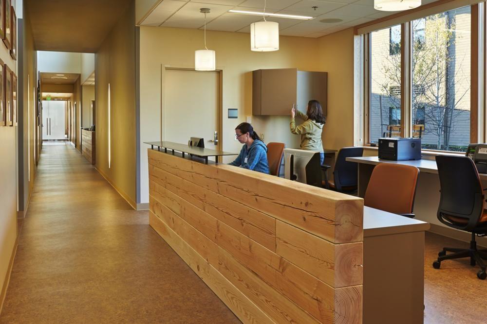 Hall view healthcare design home dream house