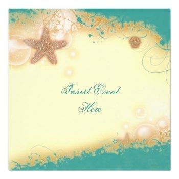 free beach theme invitation templates beach wedding elegant party