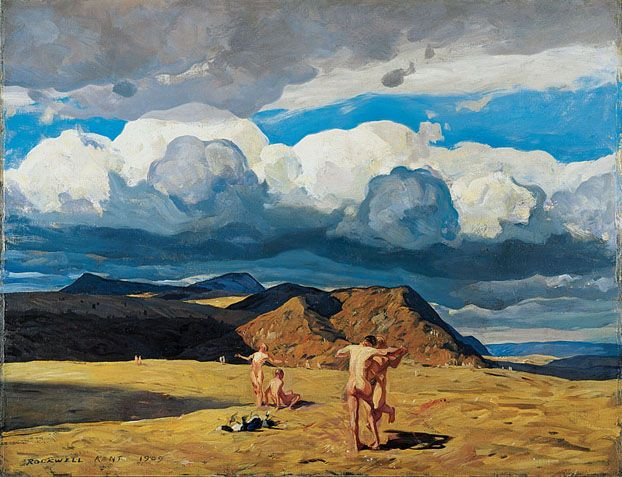 Rockwell Kent (American, 1882-1971), Men and Mountains ...