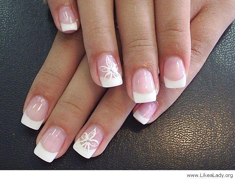 American Manicure Nail Designs