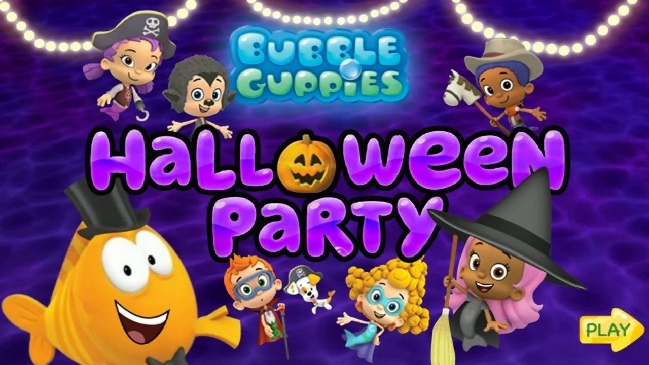 Bubble Guppies Halloween Party Game Fun Kids Games