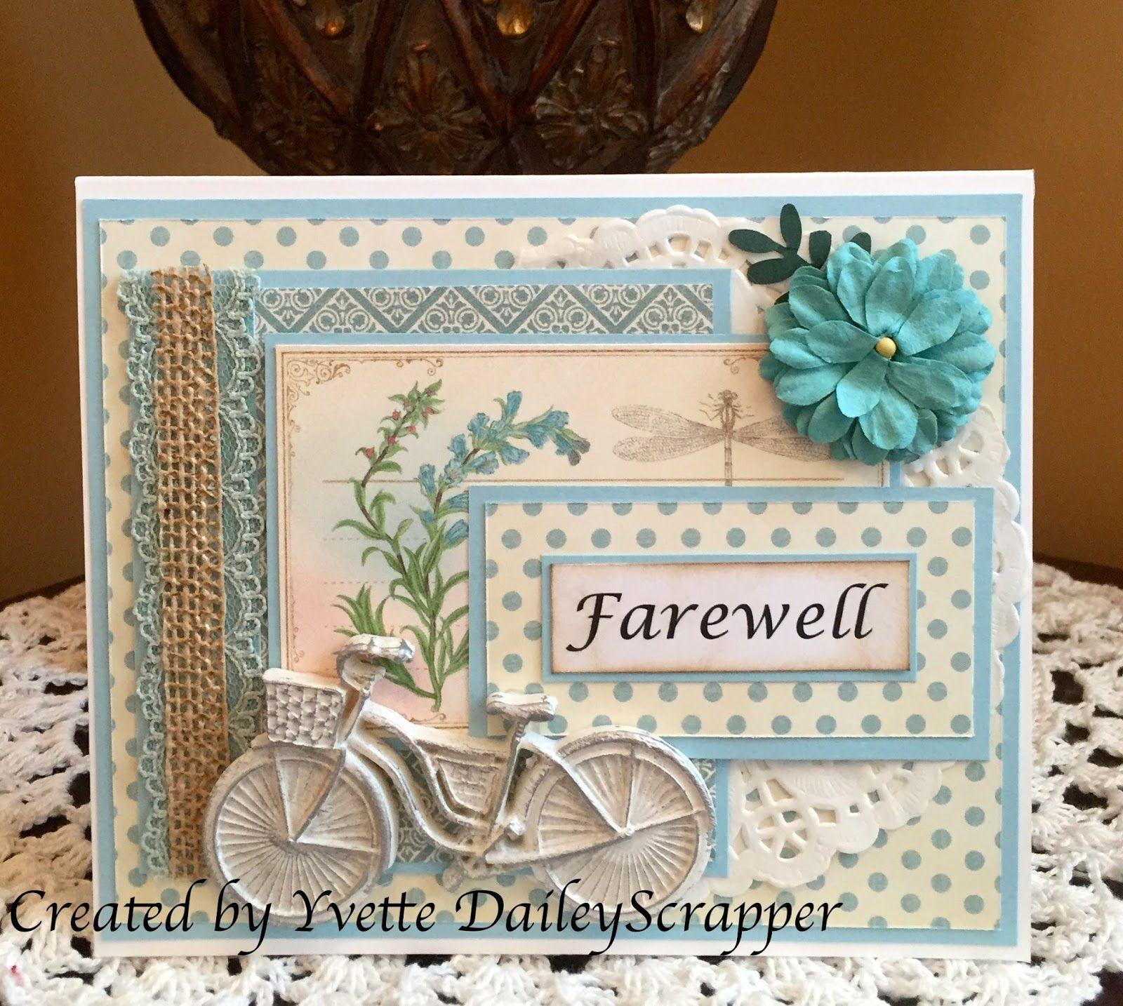 Daileyscrapper Farewell Cards Cards Handmade Retirement Cards Handmade