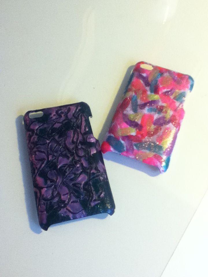 super cute nail polish DIY cases