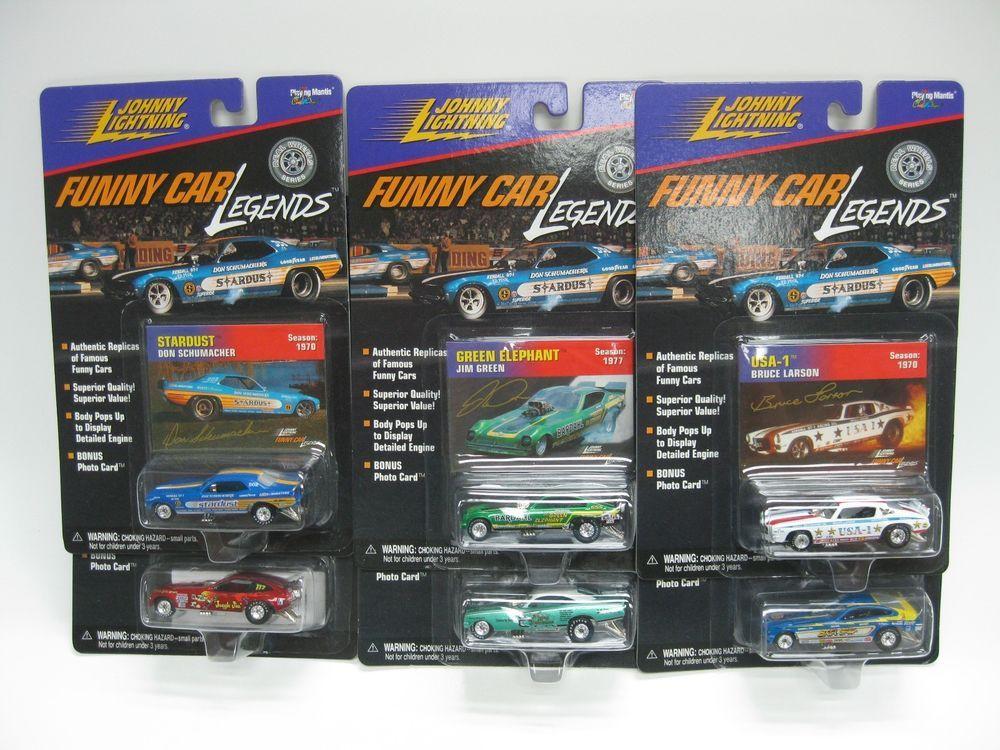 Funny Car Legends 1:64 Johnny Lightning Stardust USA-1 Flying