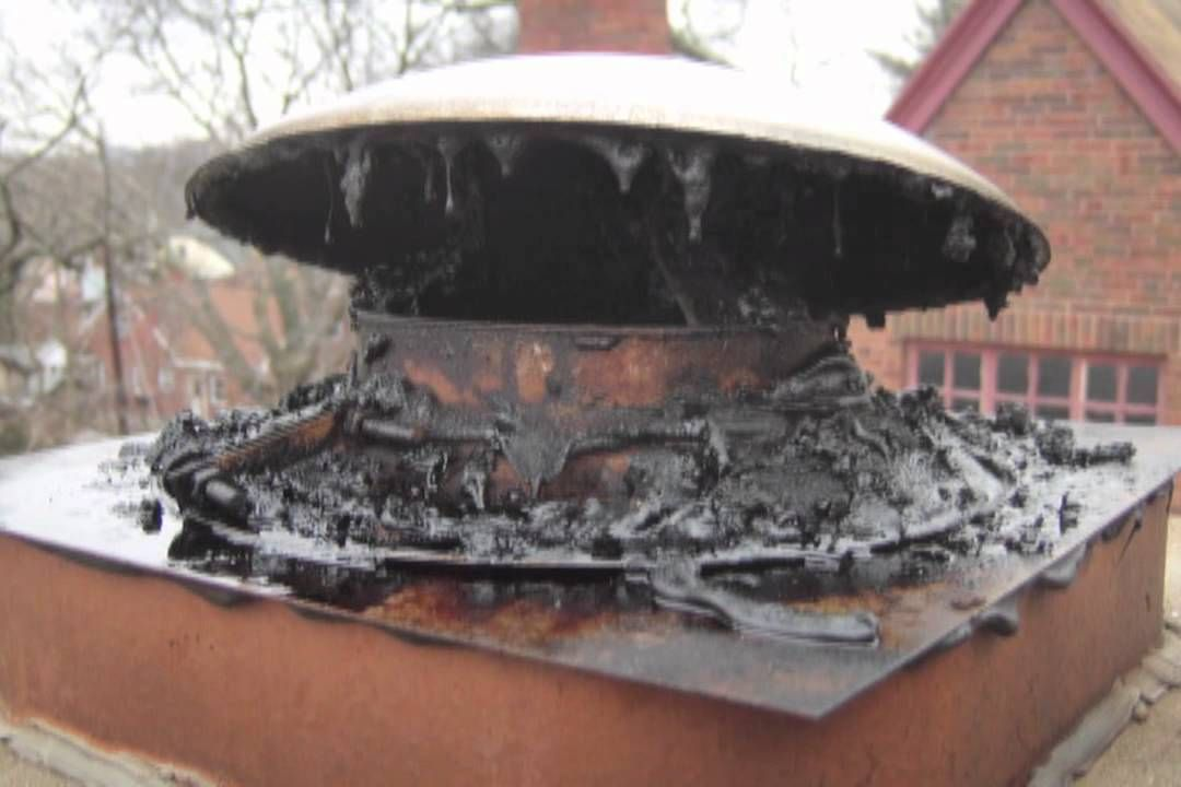 Signs Of A Chimney Fire Fireplace Safety Old Stove How To Remove