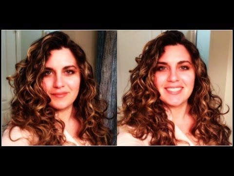 Wavy Curly Styling And Tutorial Lceg And Leg Methods Youtube Beautification Wavy Hair Curly Hair Styles Types Of Curls