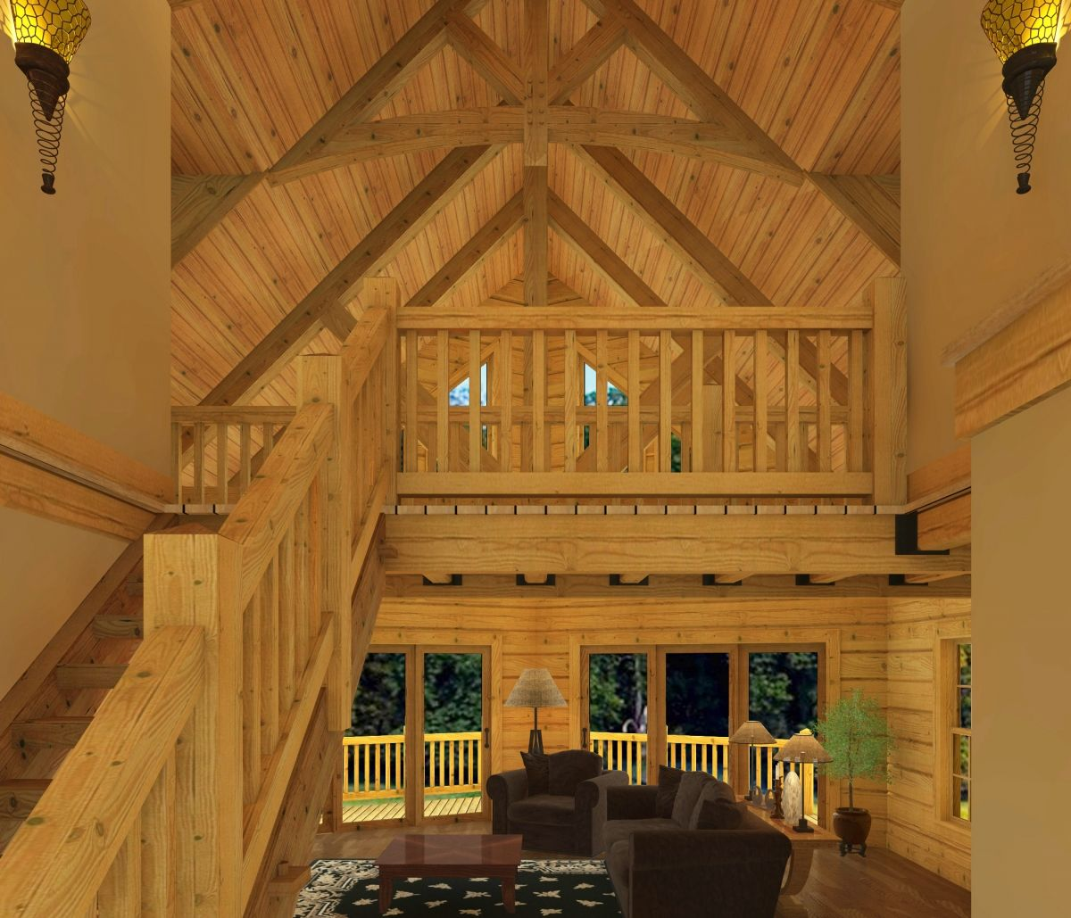 Timber Frame Home Floor Plans Southland Log Homes Beautiful