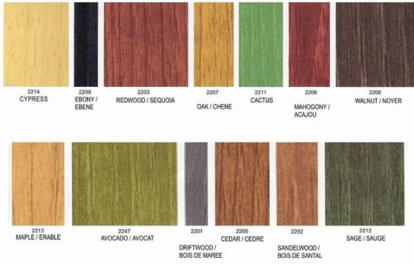 Benjamin Moore Stain Color Chart Benjamin Moore Wood Stains With