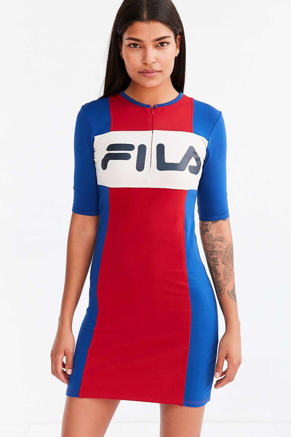 FILA + UO Kiki Bodycon Mini Dress
