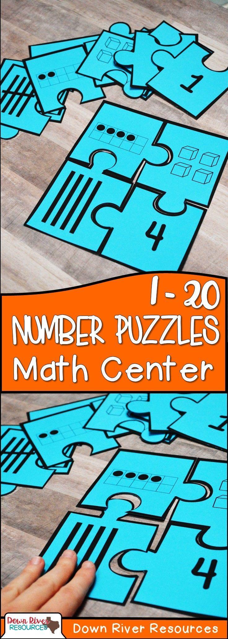 Kindergarten New Math Teks K 2bd Number Puzzles Numbers 1 20 Math Centers Kindergarten Math Puzzles Kindergarten Math Teks [ 2061 x 736 Pixel ]