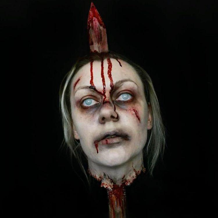 Halloween Schminke Wunden Top Halloween Narben Und Wunden Schminken