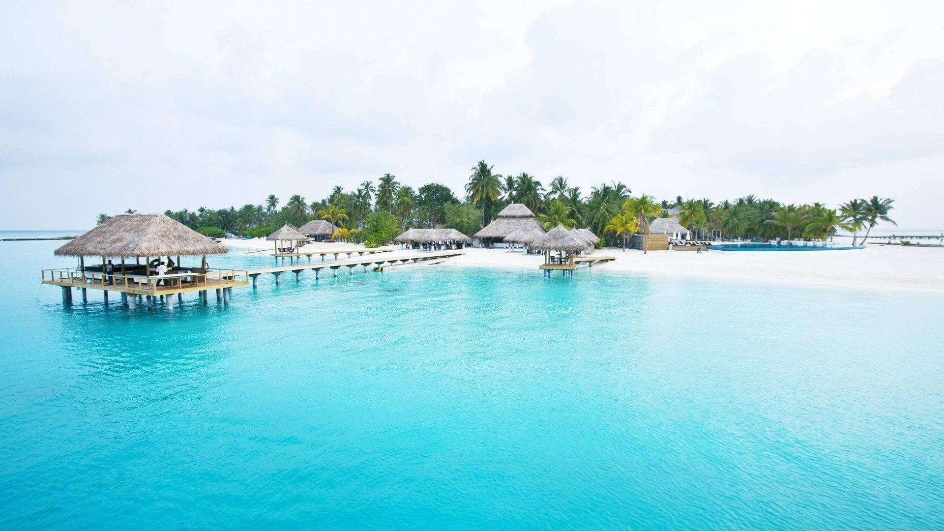 Nice Maldives Beach Wallpapers Beach Wallpaper Maldives