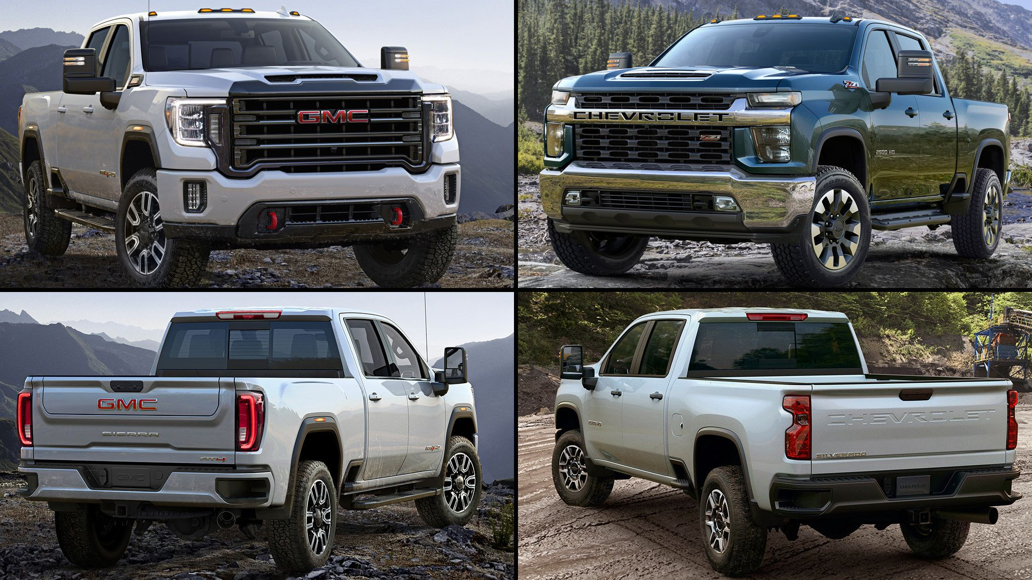 2020 Gmc Vs Chevy Picture Di 2020