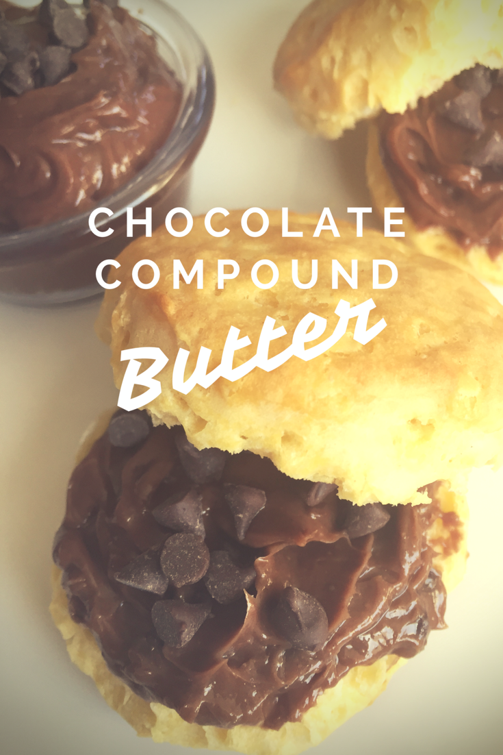 Chocolate Compound Butter - | Dessert recipes, Compound ...