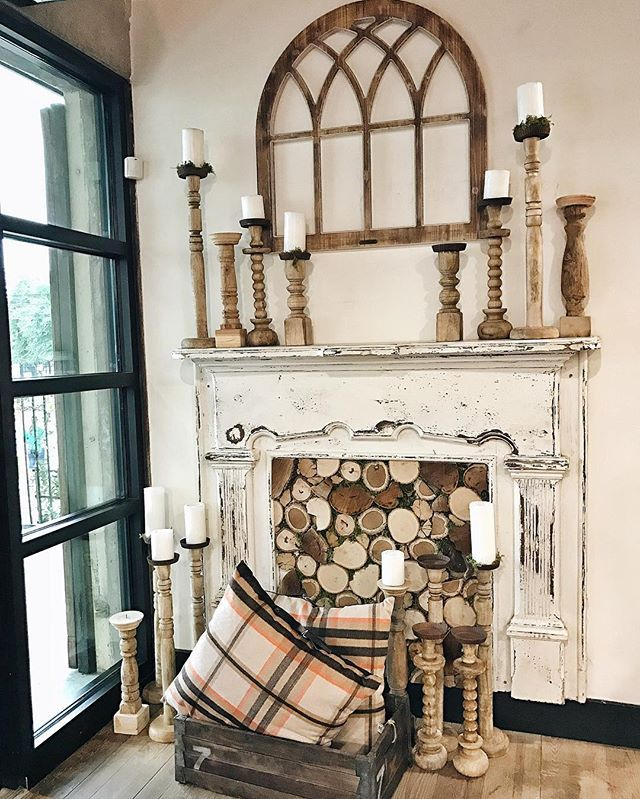 This fireplace Found at the magnolia market waco Texas