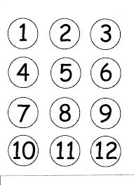 Numeros Del 1 Al 30 Para Calendario Buscar Con Google Numeros