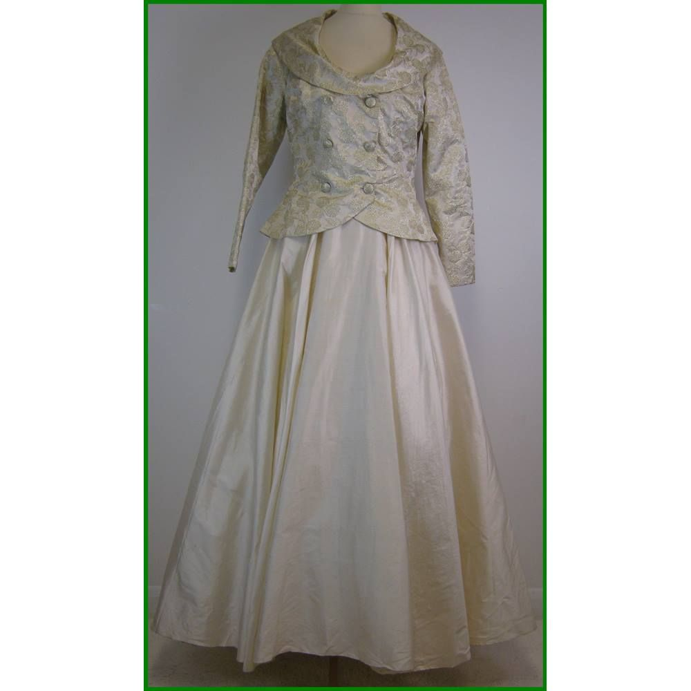 Alan Hannah - Size: 12 - Cream / ivory - Wedding dress | Oxfam GB ...