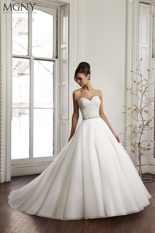 Wedding Dress Madeline Gardner New York